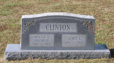CLINTON, MINNIE E. - Lawrence County, Arkansas | MINNIE E. CLINTON - Arkansas Gravestone Photos