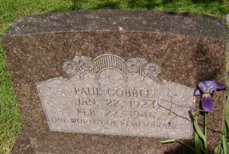 COBBLE, PAUL - Lawrence County, Arkansas | PAUL COBBLE - Arkansas Gravestone Photos