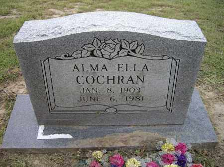 COCHRAN, ALMA ELLA - Lawrence County, Arkansas | ALMA ELLA COCHRAN - Arkansas Gravestone Photos