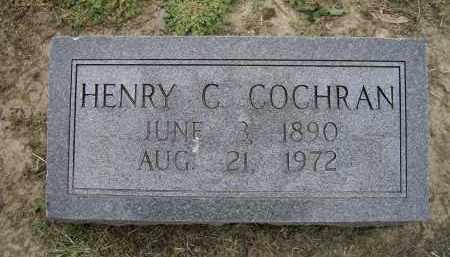 COCHRAN, HENRY C. - Lawrence County, Arkansas | HENRY C. COCHRAN - Arkansas Gravestone Photos