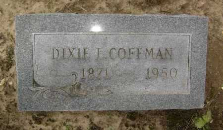 COFFMAN, DIXIE LEE - Lawrence County, Arkansas | DIXIE LEE COFFMAN - Arkansas Gravestone Photos