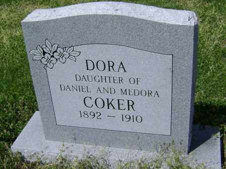 COKER, DORA - Lawrence County, Arkansas | DORA COKER - Arkansas Gravestone Photos