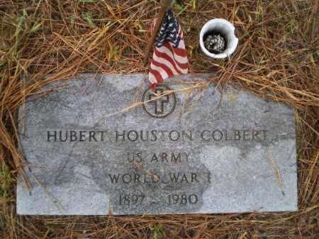 COLBERT (VETERAN WWI), HUBERT HOUSTON - Lawrence County, Arkansas | HUBERT HOUSTON COLBERT (VETERAN WWI) - Arkansas Gravestone Photos
