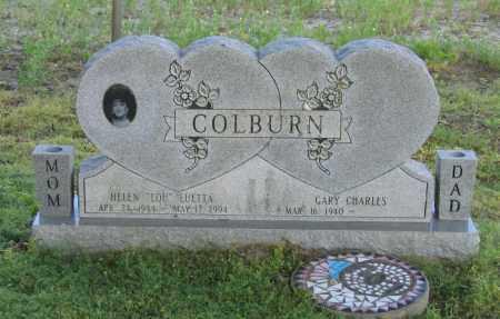 "COLBURN, HELEN LUETTA ""LOU"" - Lawrence County, Arkansas | HELEN LUETTA ""LOU"" COLBURN - Arkansas Gravestone Photos"