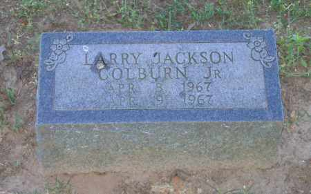 COLBURN, JR., LARRY JACKSON - Lawrence County, Arkansas | LARRY JACKSON COLBURN, JR. - Arkansas Gravestone Photos