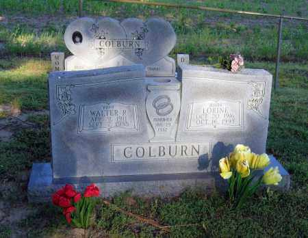COLBURN, WALTER R. - Lawrence County, Arkansas | WALTER R. COLBURN - Arkansas Gravestone Photos
