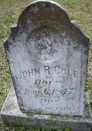 COLE, JOHN R. - Lawrence County, Arkansas | JOHN R. COLE - Arkansas Gravestone Photos