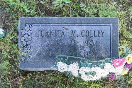 COLLEY, JUANITA M. - Lawrence County, Arkansas | JUANITA M. COLLEY - Arkansas Gravestone Photos