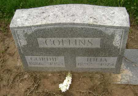 COLLINS, JULIA - Lawrence County, Arkansas | JULIA COLLINS - Arkansas Gravestone Photos