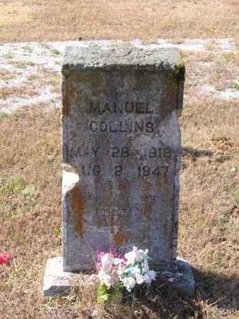 COLLINS, MANUEL - Lawrence County, Arkansas | MANUEL COLLINS - Arkansas Gravestone Photos