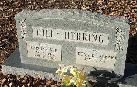 HILL, CAROLYN SUE HERRING COOK - Lawrence County, Arkansas | CAROLYN SUE HERRING COOK HILL - Arkansas Gravestone Photos