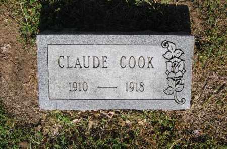 COOK, CLAUDE - Lawrence County, Arkansas | CLAUDE COOK - Arkansas Gravestone Photos