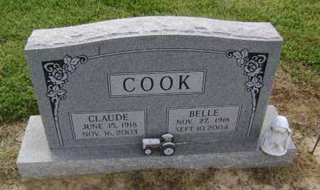 COOK, BELLE - Lawrence County, Arkansas | BELLE COOK - Arkansas Gravestone Photos