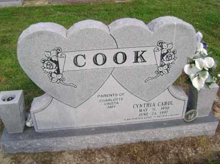 COOK, CYNTHIA CAROL - Lawrence County, Arkansas   CYNTHIA CAROL COOK - Arkansas Gravestone Photos