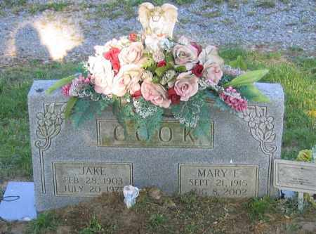 COOK, MARY FRANCES - Lawrence County, Arkansas   MARY FRANCES COOK - Arkansas Gravestone Photos