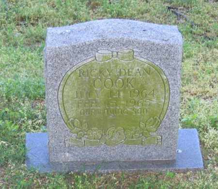 COOK, RICKY DEAN - Lawrence County, Arkansas | RICKY DEAN COOK - Arkansas Gravestone Photos