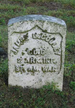 COLLEY (VETERAN SAW), JAMES D. - Lawrence County, Arkansas | JAMES D. COLLEY (VETERAN SAW) - Arkansas Gravestone Photos