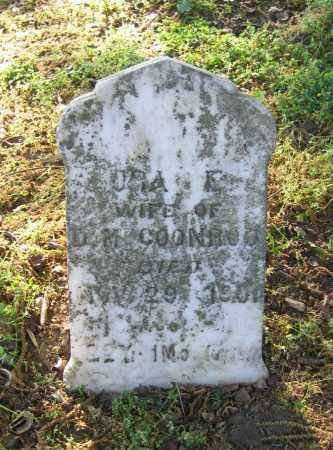 COONROD, ORA E. - Lawrence County, Arkansas | ORA E. COONROD - Arkansas Gravestone Photos