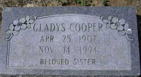 COOPER, GLADYS - Lawrence County, Arkansas | GLADYS COOPER - Arkansas Gravestone Photos