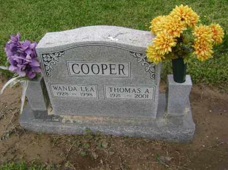COOPER, WANDA LEA - Lawrence County, Arkansas | WANDA LEA COOPER - Arkansas Gravestone Photos