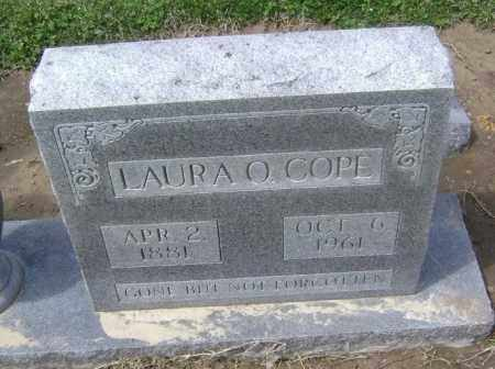 COPE, LAURA O. - Lawrence County, Arkansas | LAURA O. COPE - Arkansas Gravestone Photos