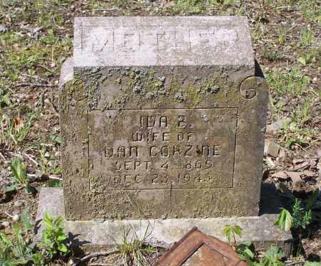 CORZINE, IDA B. - Lawrence County, Arkansas | IDA B. CORZINE - Arkansas Gravestone Photos
