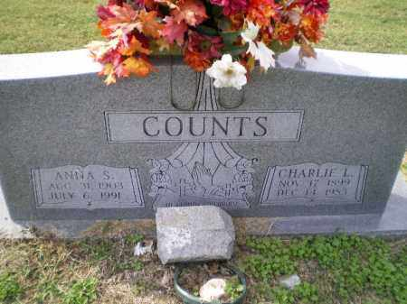 COUNTS, CHARLES LINDSEY - Lawrence County, Arkansas | CHARLES LINDSEY COUNTS - Arkansas Gravestone Photos