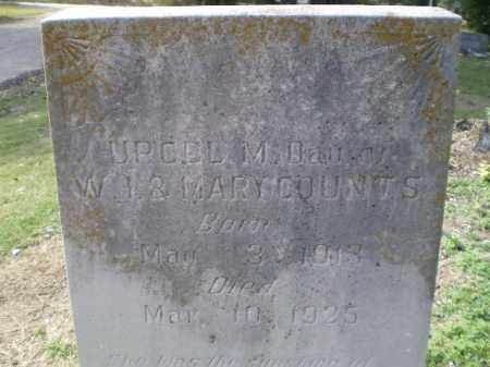 COUNTS, URCEL M. - Lawrence County, Arkansas | URCEL M. COUNTS - Arkansas Gravestone Photos