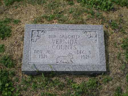 COUNTS, VERNIDA - Lawrence County, Arkansas | VERNIDA COUNTS - Arkansas Gravestone Photos