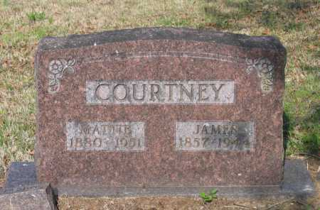 ANDERSON COURTNEY, MATTIE B. - Lawrence County, Arkansas | MATTIE B. ANDERSON COURTNEY - Arkansas Gravestone Photos