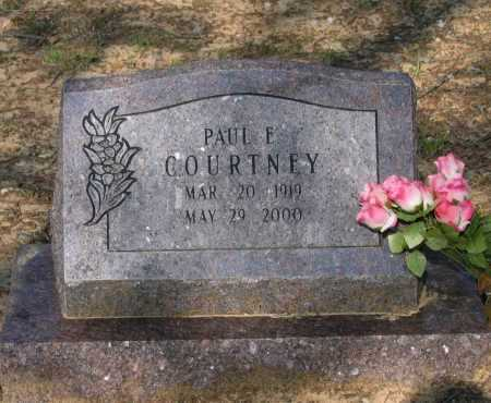 COURTNEY, PAUL EUGENE - Lawrence County, Arkansas | PAUL EUGENE COURTNEY - Arkansas Gravestone Photos