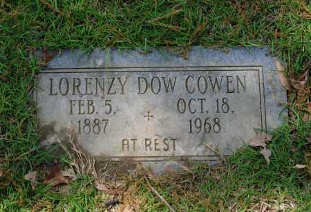 "COWEN, LORENZA DOWELL ""LORENZY DOW"" - Lawrence County, Arkansas | LORENZA DOWELL ""LORENZY DOW"" COWEN - Arkansas Gravestone Photos"