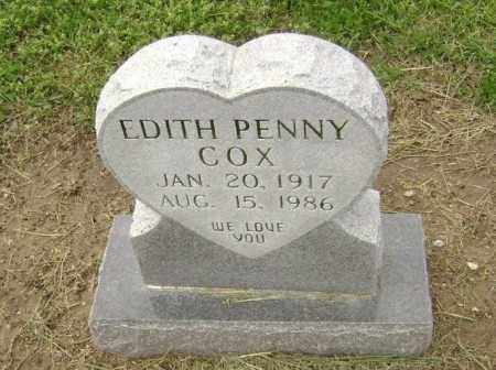 PENNY COX, EDITH - Lawrence County, Arkansas | EDITH PENNY COX - Arkansas Gravestone Photos