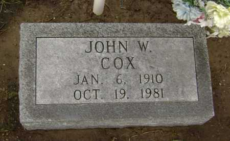 COX, JOHN WILLIAM - Lawrence County, Arkansas | JOHN WILLIAM COX - Arkansas Gravestone Photos