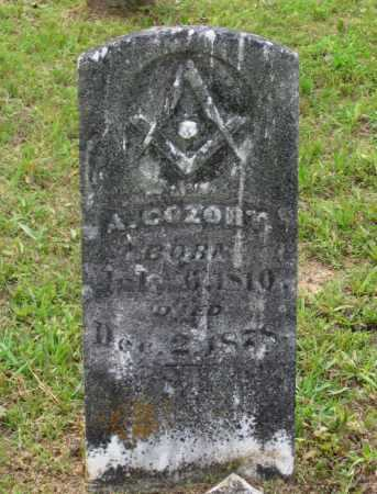 COZORT, ANTHONY C. - Lawrence County, Arkansas | ANTHONY C. COZORT - Arkansas Gravestone Photos