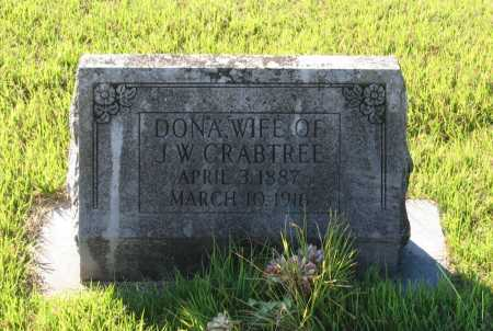 "JONES CRABTREE, LEONA C. ""DONA"" - Lawrence County, Arkansas 