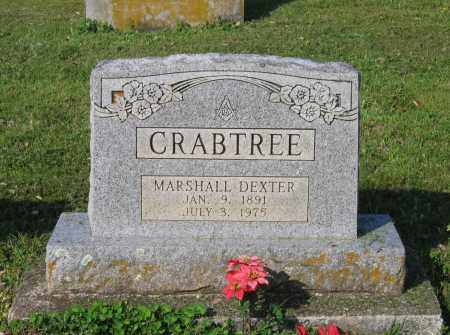 CRABTREE, MARSHALL DEXTER - Lawrence County, Arkansas | MARSHALL DEXTER CRABTREE - Arkansas Gravestone Photos