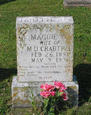 "WARDEN CRABTREE, MARGARET ""MAGGIE"" - Lawrence County, Arkansas 