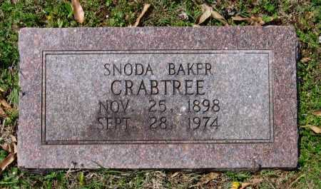 BAKER CRABTREE, SNODA - Lawrence County, Arkansas | SNODA BAKER CRABTREE - Arkansas Gravestone Photos