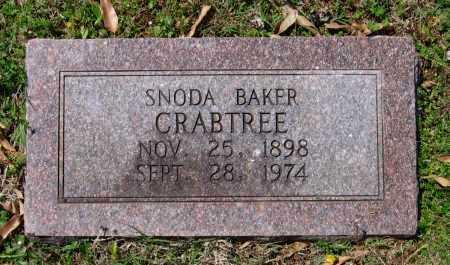 CRABTREE, SNODA - Lawrence County, Arkansas | SNODA CRABTREE - Arkansas Gravestone Photos