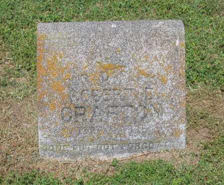 CRAFTON, GERTIE - Lawrence County, Arkansas | GERTIE CRAFTON - Arkansas Gravestone Photos