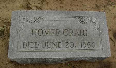 CRAIG, HOMER GOULD - Lawrence County, Arkansas | HOMER GOULD CRAIG - Arkansas Gravestone Photos