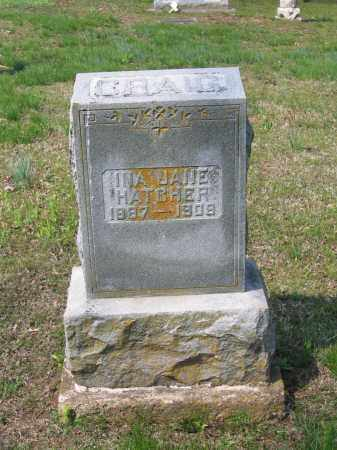 HATCHER CRAIG, INA JANE - Lawrence County, Arkansas | INA JANE HATCHER CRAIG - Arkansas Gravestone Photos