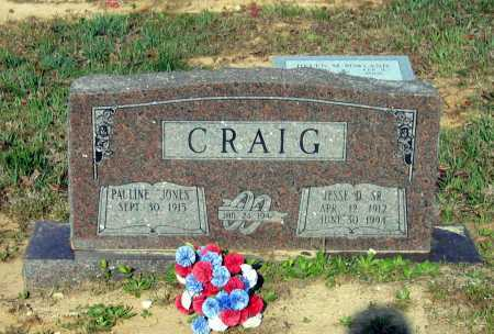 CRAIG, JESSE DAVID - Lawrence County, Arkansas | JESSE DAVID CRAIG - Arkansas Gravestone Photos