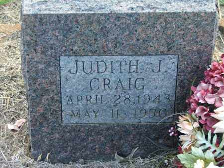 CRAIG, JUDITH J. - Lawrence County, Arkansas | JUDITH J. CRAIG - Arkansas Gravestone Photos