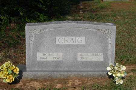 CRAIG, ADDIE - Lawrence County, Arkansas | ADDIE CRAIG - Arkansas Gravestone Photos