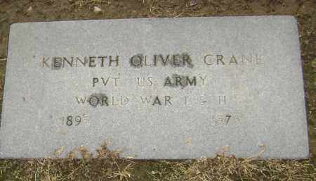 CRANE  (VETERAN 2 WARS), KENNETH OLIVER - Lawrence County, Arkansas | KENNETH OLIVER CRANE  (VETERAN 2 WARS) - Arkansas Gravestone Photos