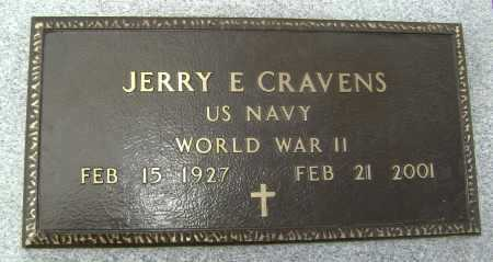 CRAVENS  (VETERAN WWII), JERRY EARL - Lawrence County, Arkansas | JERRY EARL CRAVENS  (VETERAN WWII) - Arkansas Gravestone Photos
