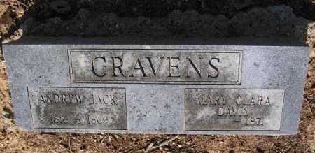 "CRAVENS, ANDREW JACKSON ""JACK"" - Lawrence County, Arkansas 