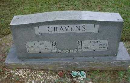 FAULKNER CRAVENS, LILLIE AGNES - Lawrence County, Arkansas | LILLIE AGNES FAULKNER CRAVENS - Arkansas Gravestone Photos